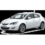 Автомобильные коврики в салон и багажник Opel Astra (2009-2017)