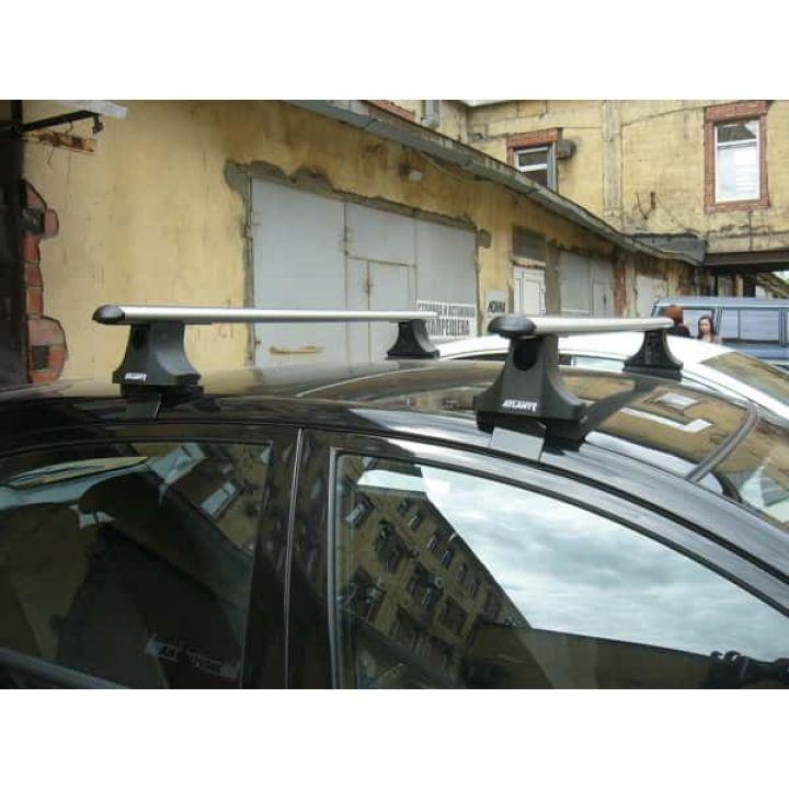 """Багажник """"Атлант"""" Аэродинамические дуги на ВАЗ 2110, 2112. изображение 1"""